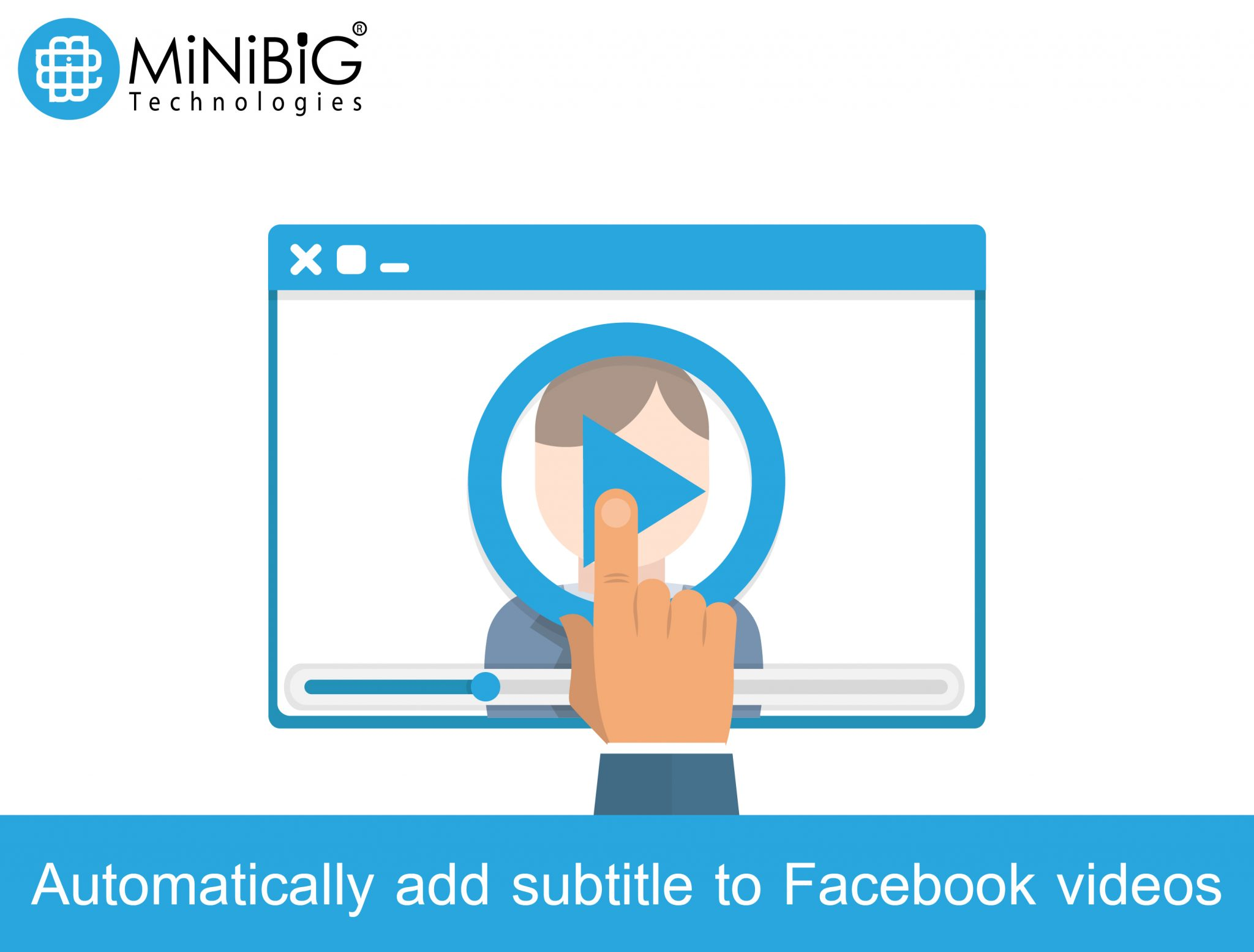 Automatically add captions/subtitle to Facebook videos